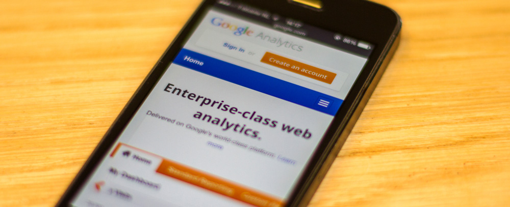 Google Analytics with Bluebrand