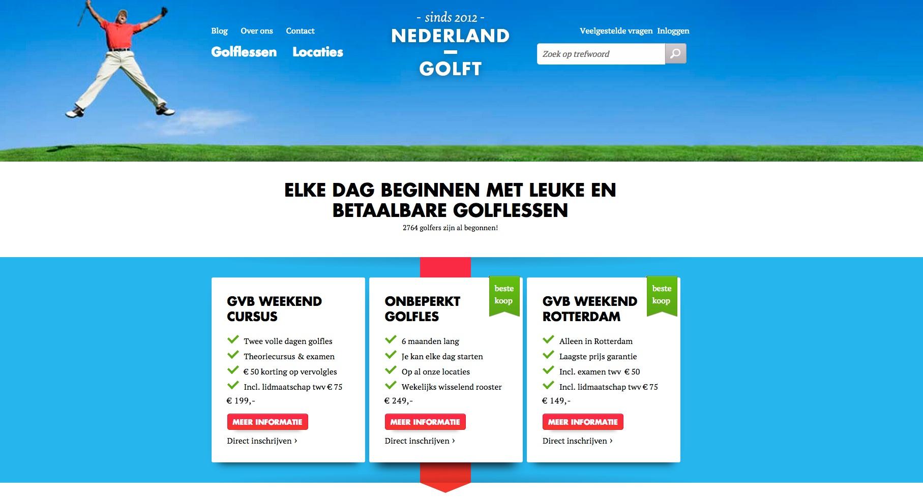 Nederland_Golft