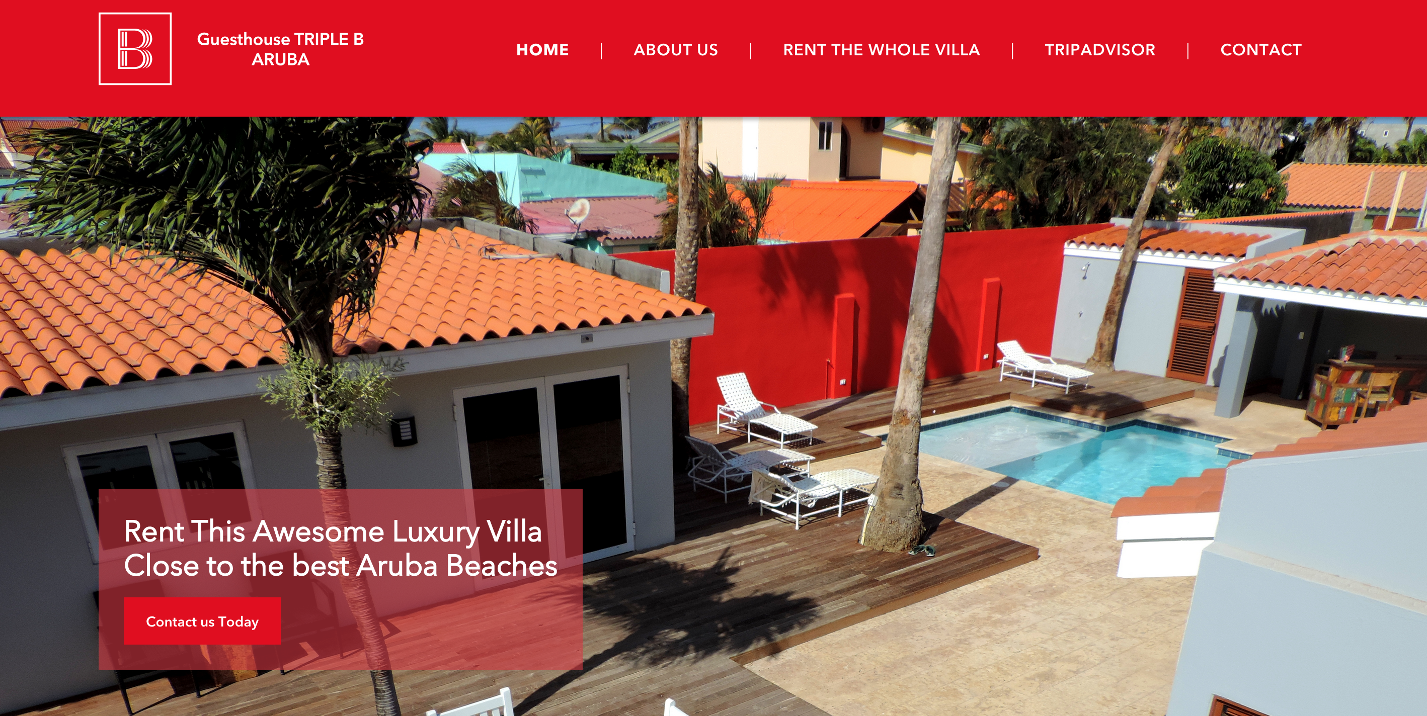 new website triple B aruba
